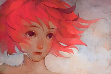 Pink Hair by y-u-k-i-k-o