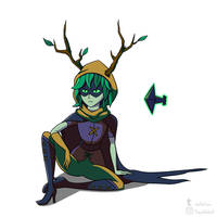 Adventure Time - Huntress Wizard by TheArtofSilent