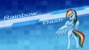 Rainbow Dash - Wallpaper [V. 1]
