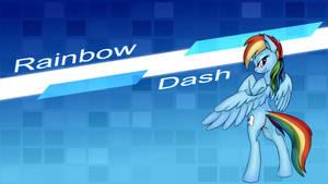 Rainbow Dash - Wallpaper [V. 2]