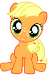 Filly Applejack vector
