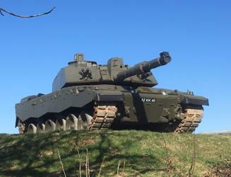 Modern Heavy Cavalry Challenger 2 by cpmcpm13