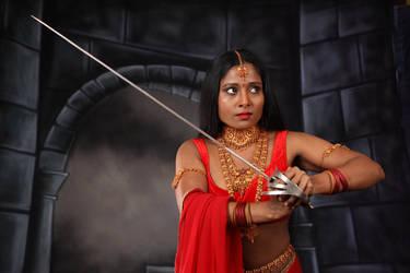 (Remote shoot) Hindu Warrior Princess