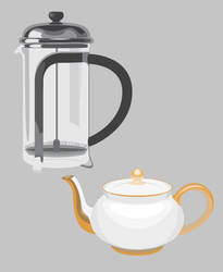 Teapot and Plunger