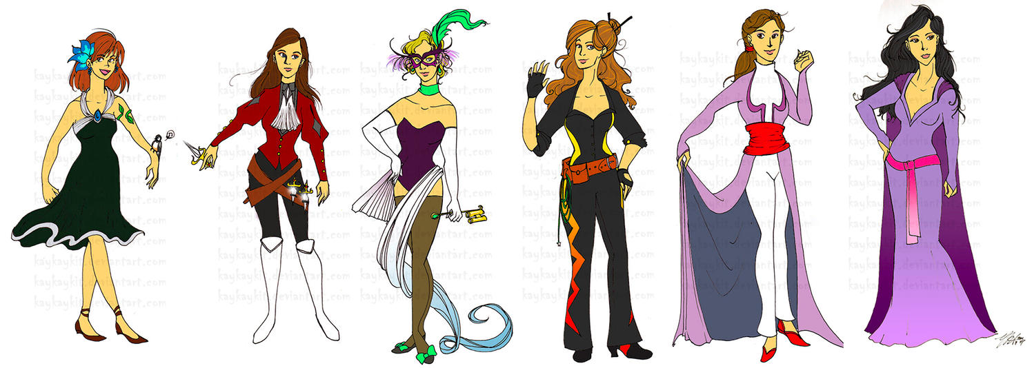Character Design For Comics : Comic character designs by kaykaykit on deviantart