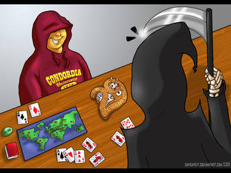 Playing Games with Death by kaykaykit