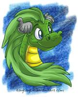 Painter Dragon by kaykaykit
