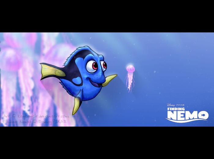 Finding Nemo Jellyfish   Dory Finding Nemo Squishy