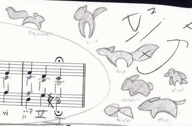 Sketch Logos by kaykaykit