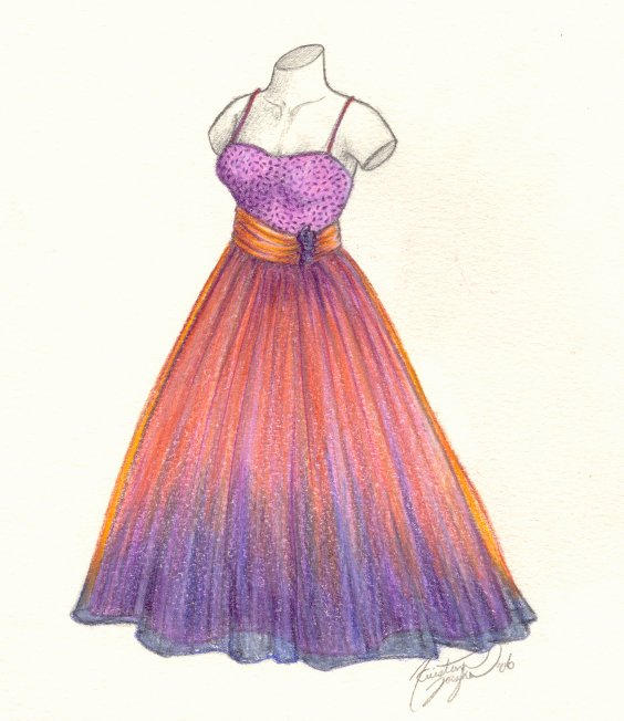 Drawings Of Prom Dresses 81