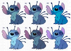 Stitch Colours by kaykaykit