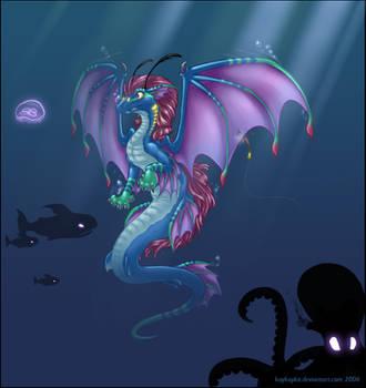 Vasuki Dragon by kaykaykit