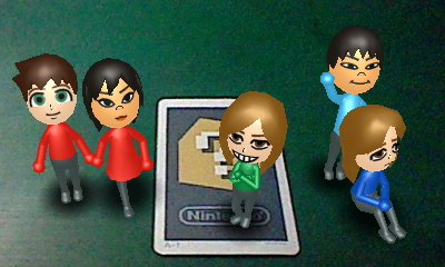 U-Speed Mii Characters by mappy41