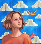 Tsu:the crane lover by RidmiAmasha