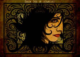 Demon eyes by liowmolko by Lucius-Ferguson
