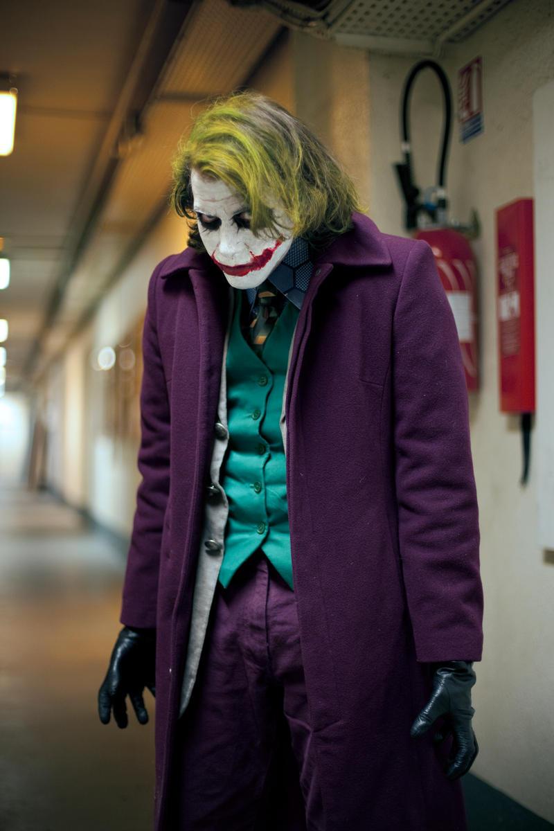 Joker cosplay enieme 3 by Lucius-Ferguson