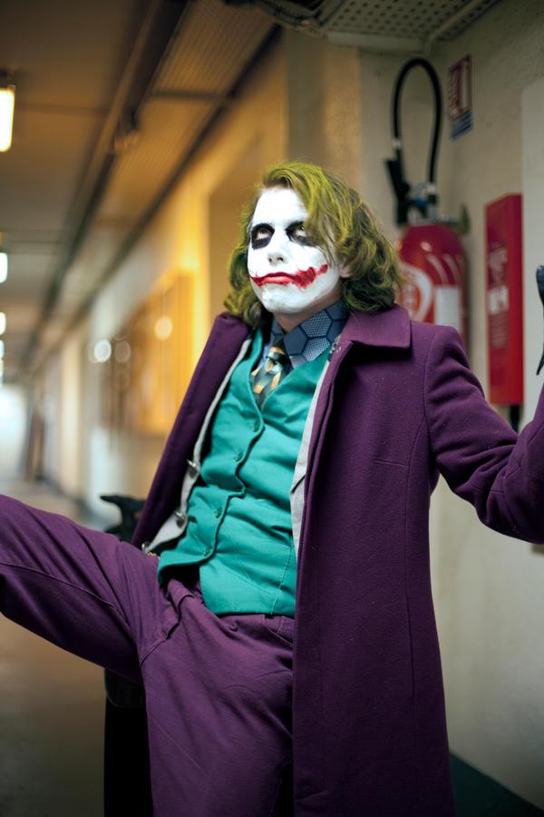 Joker cosplay enieme 4 by Lucius-Ferguson