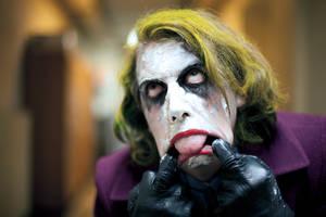 Joker cosplay enieme 13 by Lucius-Ferguson