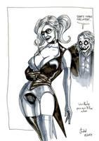 Harley Quinn sketch by Lucius-Ferguson