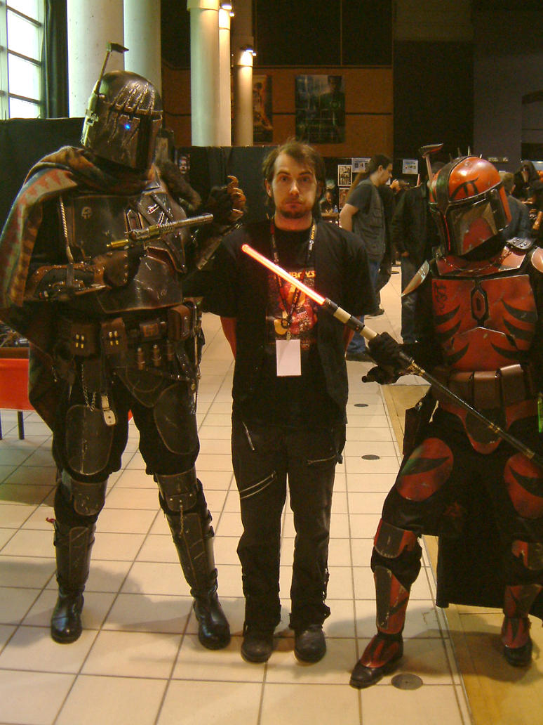 me and mandalorians by Lucius-Ferguson