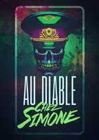 logo for the pub Au diable Chez Simone by Lucius-Ferguson