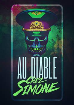 logo for the pub Au diable Chez Simone