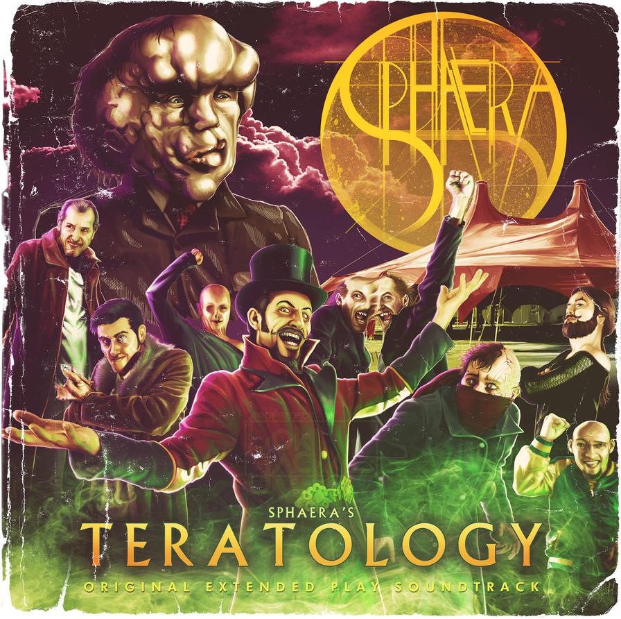 Pochette EP Sphaera Teratology by Lucius-Ferguson