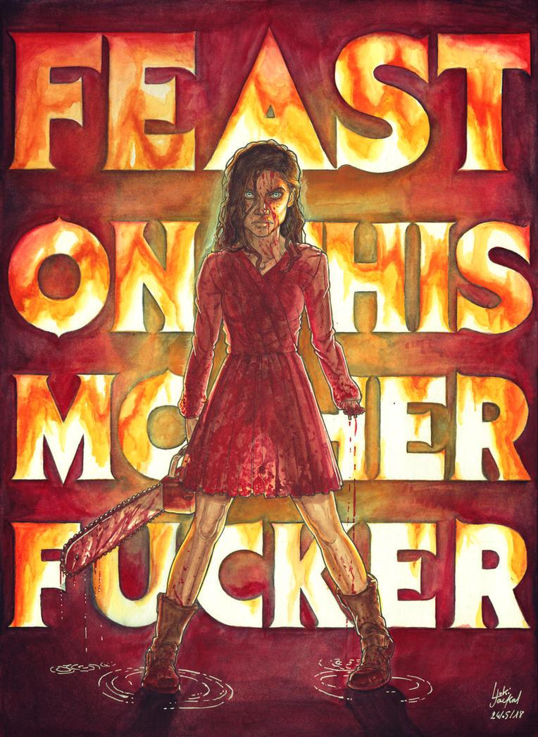Evil Dead Mia by Lucius-Ferguson