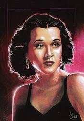 Hedy Lamarr (speed portrait)