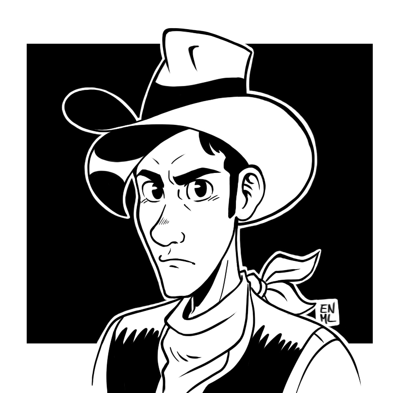Lucky Luke by ENMadLemon