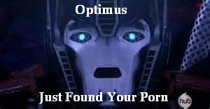 Optimus Meme by Winry88