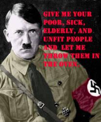 Hitler by senseigurl