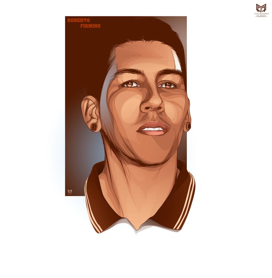 Roberto-Firmino By Faresmohammed22 On DeviantArt