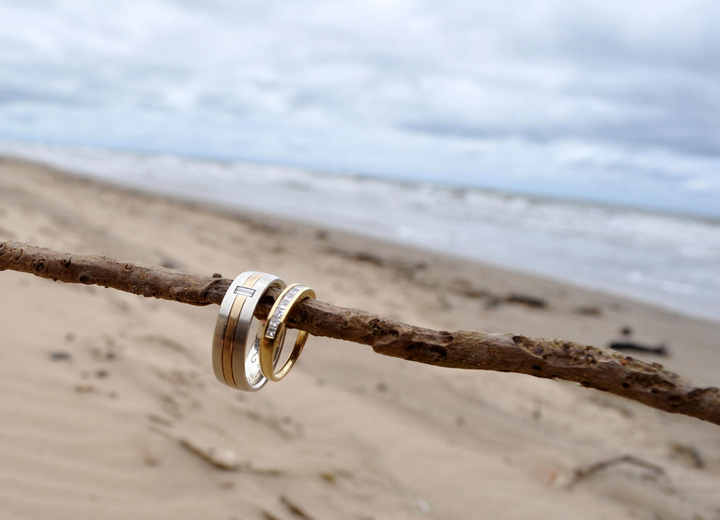 bands diamond htm roll three made beach by photo cord christian rings artist wedding gallery of