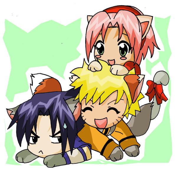 Naruto Characters By Icyprincess1