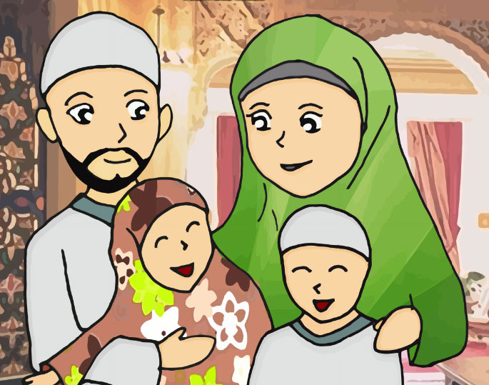 Muslim Family By Lamya And Co On Deviantart