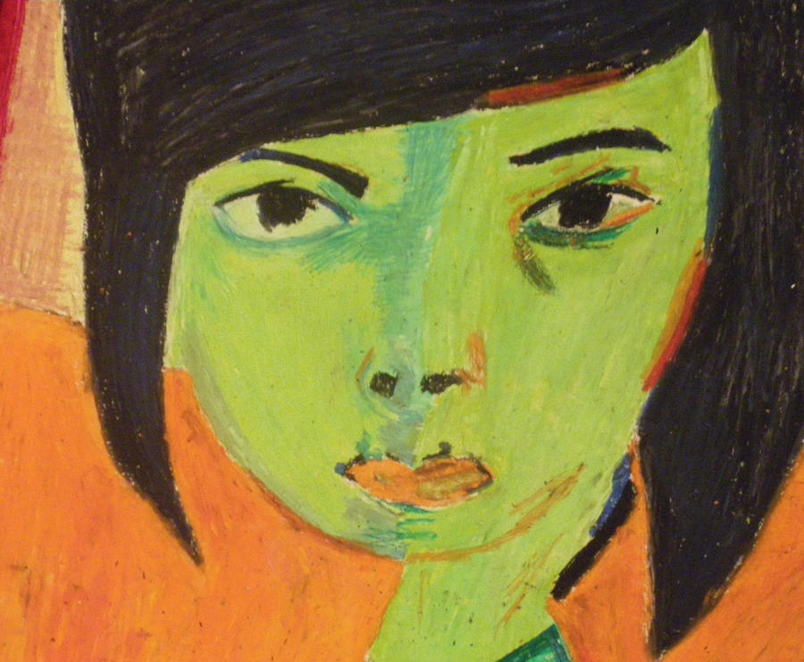 Self Portrait-Matisse ...