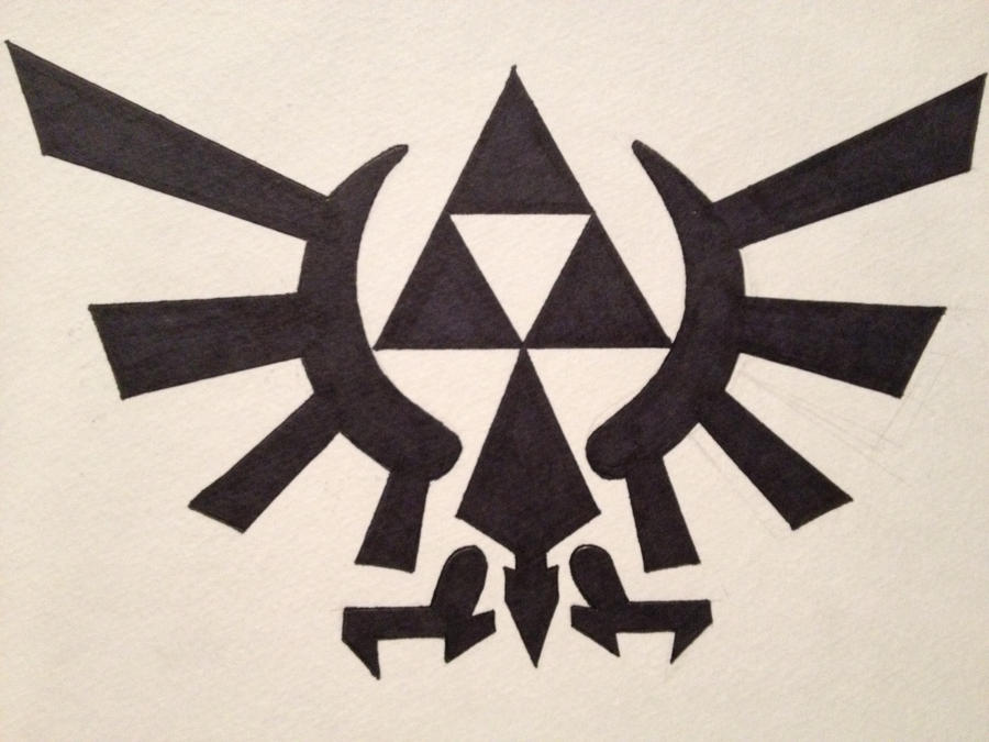 Zelda logo by Twili603