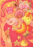 ArtbookPOP- Time Is UP by Willow-San