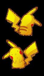 Commission Socks-Rock - Pikachu by Willow-San