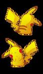 Commission Socks-Rock - Pikachu