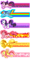 My Little Pony Bookmarks