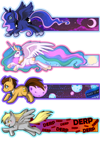MLP bookmarks