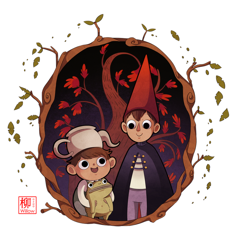 Over The Garden Wall By Willow San On Deviantart