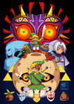 Majora's Mask by Willow-San