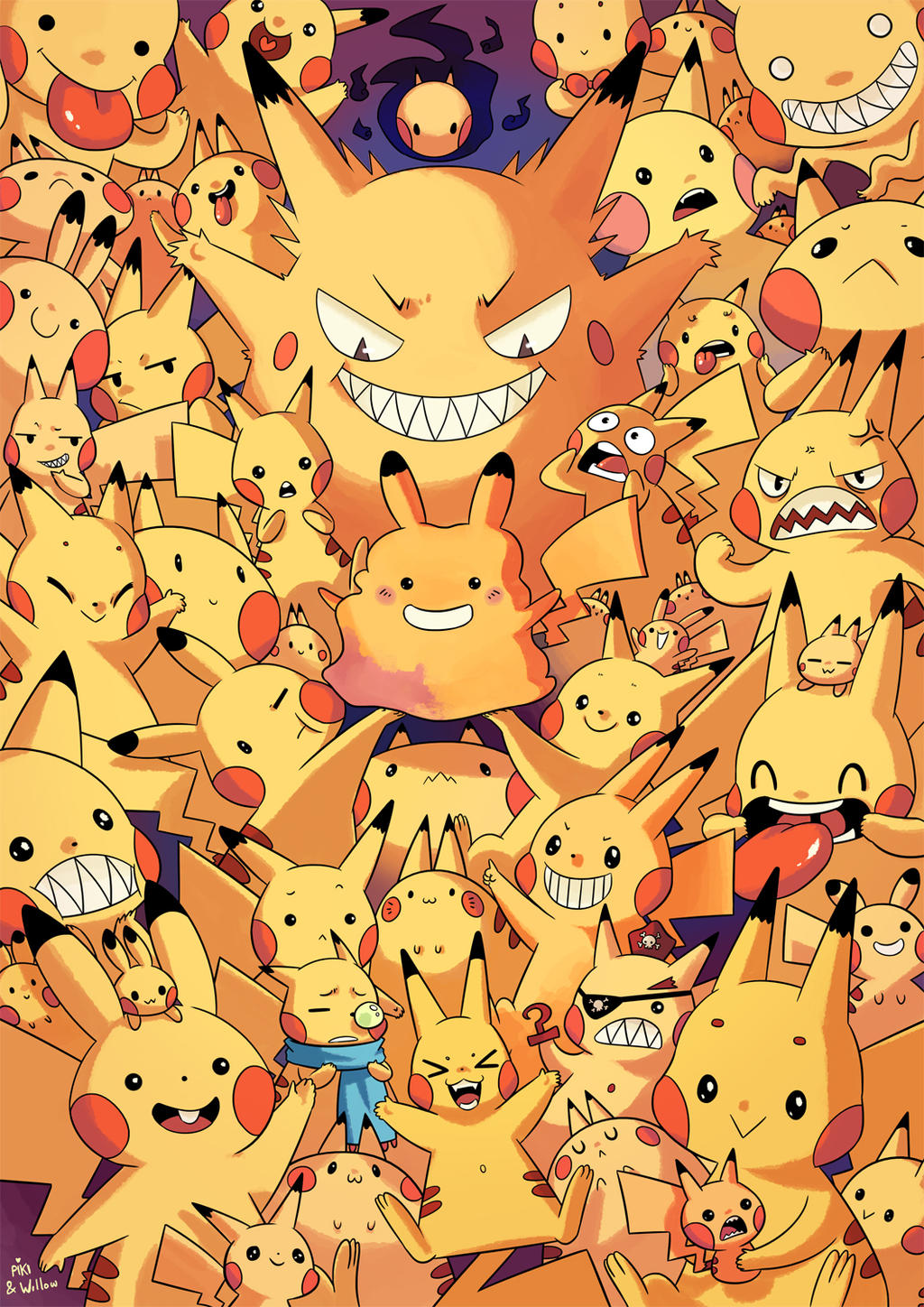 Full of Pikachus - Collab with Pikila