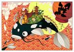 Kistune et les Carpes Koi 2