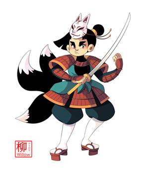 Kitsune Samurai