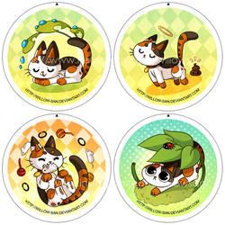 Badges Choukette