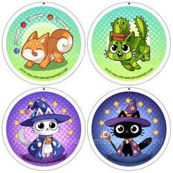 Cutes badges